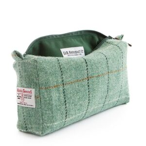 Harris Tweed Wash Bag - Town
