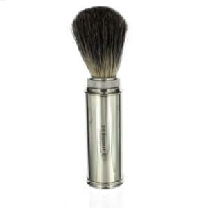 Chrome Travel Shaving Brush