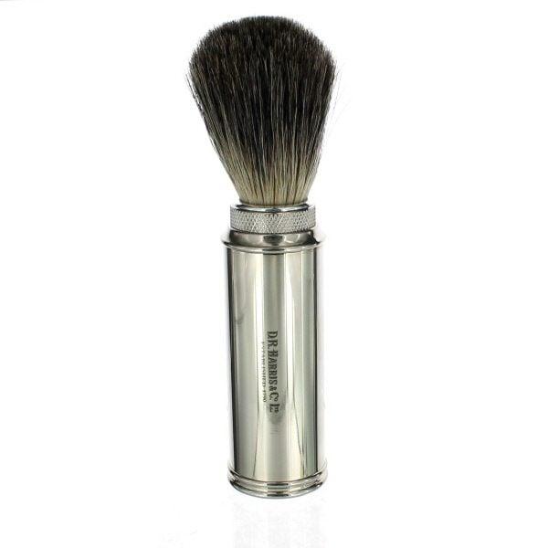 Chrome Travel Shaving Brush